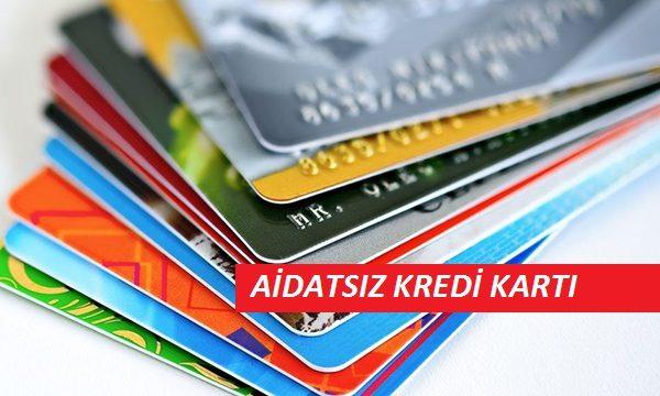 aidatsiz kredi karti 600x360 - 2018 Yılı Aidatsız (Yalın) Kredi Kartı Veren Bankalar Belirlendi