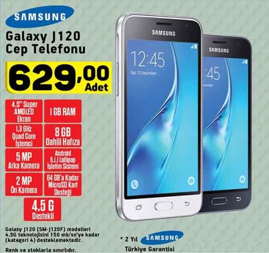 samsung galaxy j120 cep telefonu a101 aktuel - A101 aktüel, 25 Ocak 2018 Perşembe ürün broşürü ve kataloğu