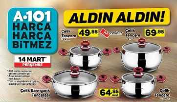 A101 katalog 14 mart 3 - A101 Aktüel Ürünler 14 Mart Kataloğu birbirinden güzel indirim fırsatları ile sizleri bekliyor!