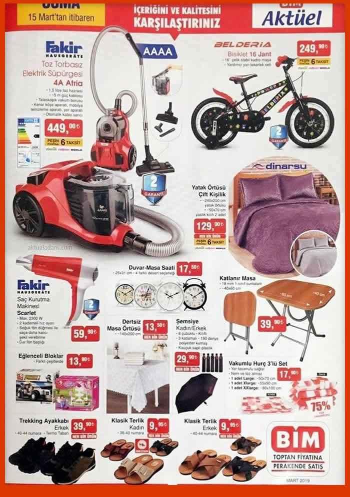 bim1 - Bim Market'te bu hafta Hangi Aktüel ürünler satılacak? Cuma Günü Başlayan Bim Aktüel Fırsatları